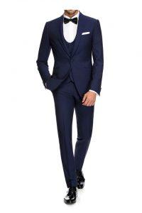 Blå 3 pc. suit