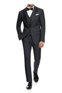 Grå 3 pc. suit